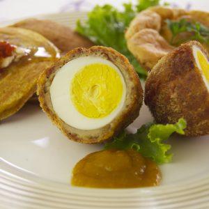 Belcour Honey Mustard Scotch Eggs