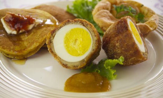 Honey Mustard Scotch Eggs